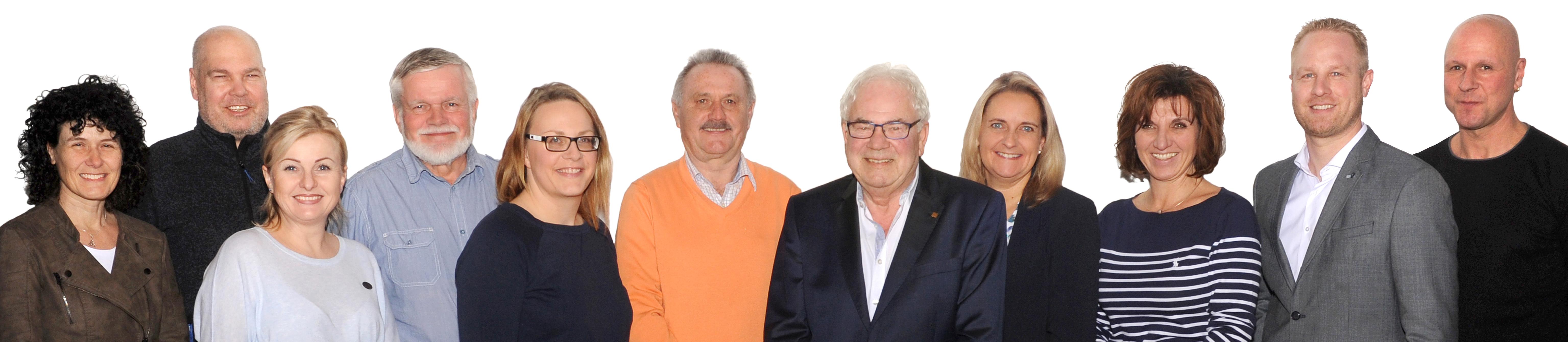 Präsidium 2019 SV Büchenbronnn e.V.